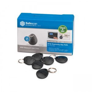 Safescan - Set da 25 Key Fobs RFID